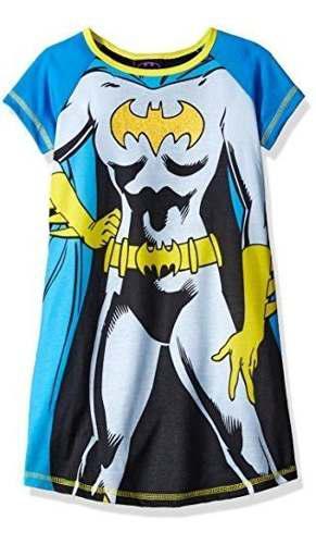 Dc Comics Girls Batgirl Pijama De Manga Corta Con Cabo