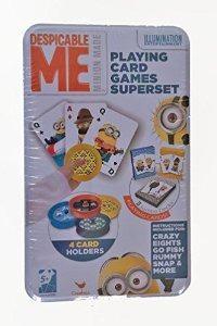 Despicable me jugar juego cartas superserie