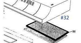 General electric wb2x2892 gama estufa horno filtro de ca
