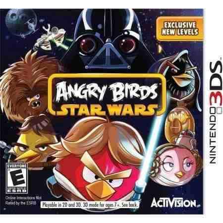 Juego angry birds star wars 3ds usado original