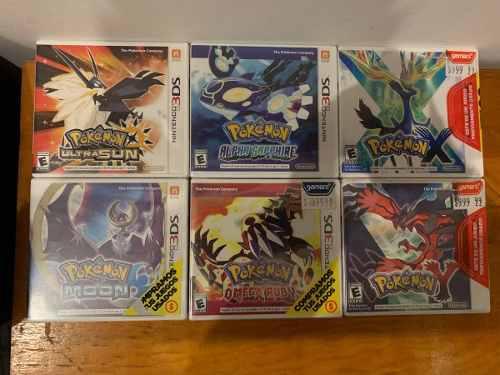 Juegos de pokemon 3ds nuevos y usados