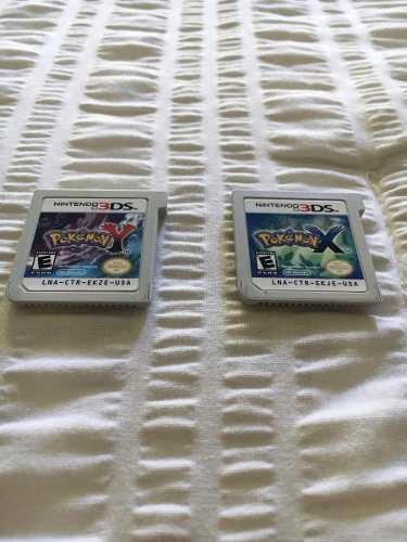 Juegos de pokemon x y pokemon y para 3ds