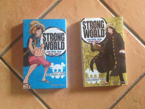 Manga One Piece Strong World 1-2 (Ed Planeta Cómic)