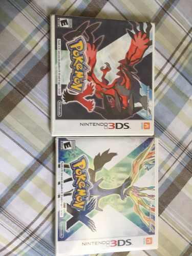 Pokemon x y pokemon y juegos nuevos sellados