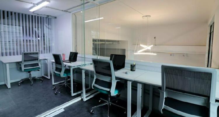 Renta oficinas de todos los tamaños en colonia anzures