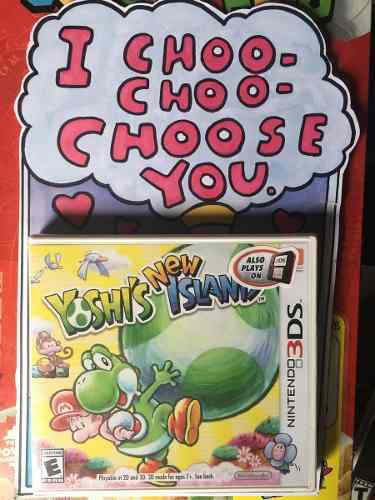Yoshi island nintendo 3ds y nintendo 2ds juegos new yoshi