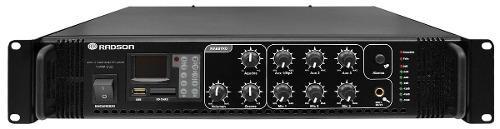 AMPLIFICADOR DE AUDIO RADSON MOD. 1200M-USB/SD segunda mano  México (Todas las ciudades)