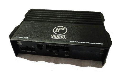 Amplificador dsp tecnologia 5 canales bluetooth ajuste movil