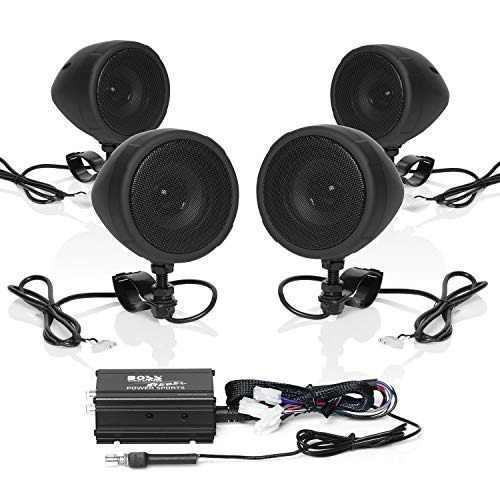 Boss audio mcbk470b sistema de sonido de altavoz amplifica