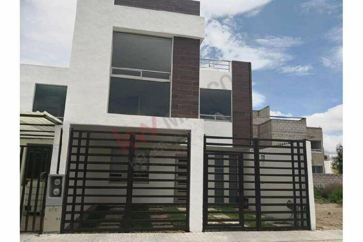 Casa nueva en privada, con recamara en planta baja