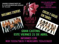Casting de stripers en Toluca – Strippers Toluca
