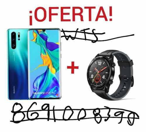 Huawei p30 pro 256gb original nuevo + active watch de regalo