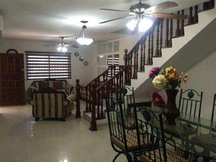 Se renta casa amueblada en mazatlán de 4 recámaras cerca