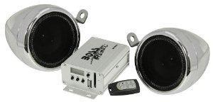 Sistema de boss audio mc500 motorcyle / utv amplificador alt