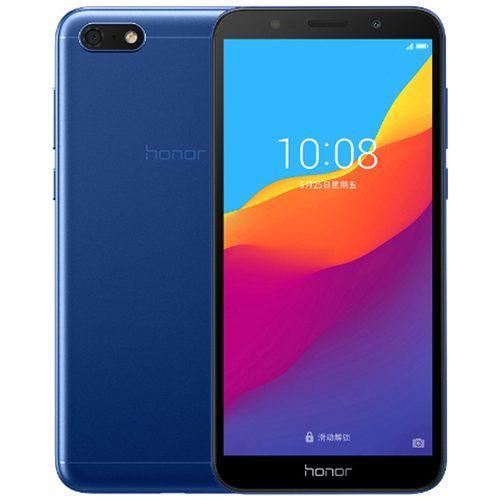 Teléfono inteligente huawei honor 7s azul 2 + 16gb negro
