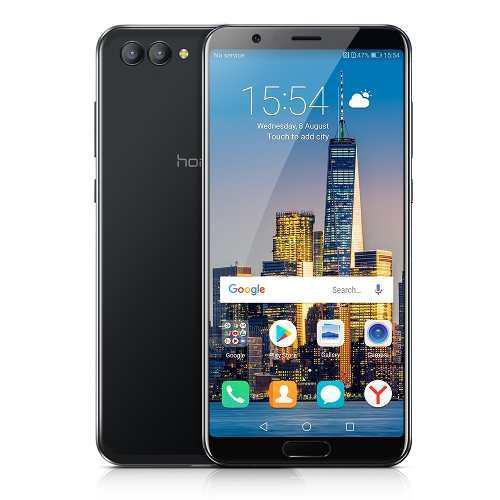 Teléfono inteligente huawei honor v10 6+128 gb negro ue