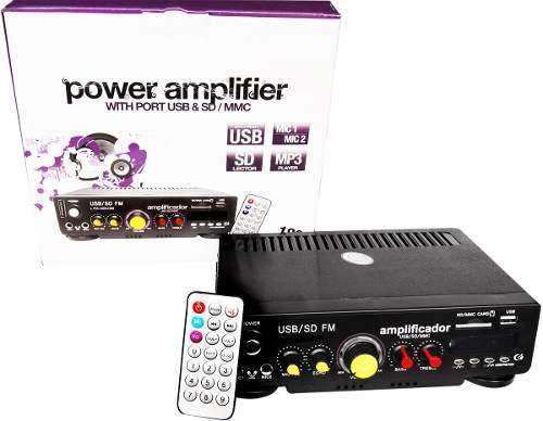 Versatil amplificador para casa negocio y diferentes usos