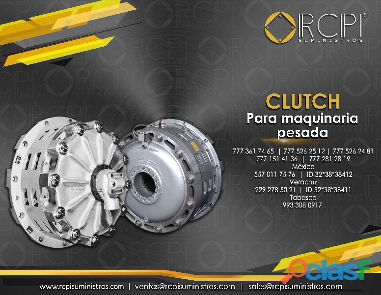 Clutch para maquinaria pesada