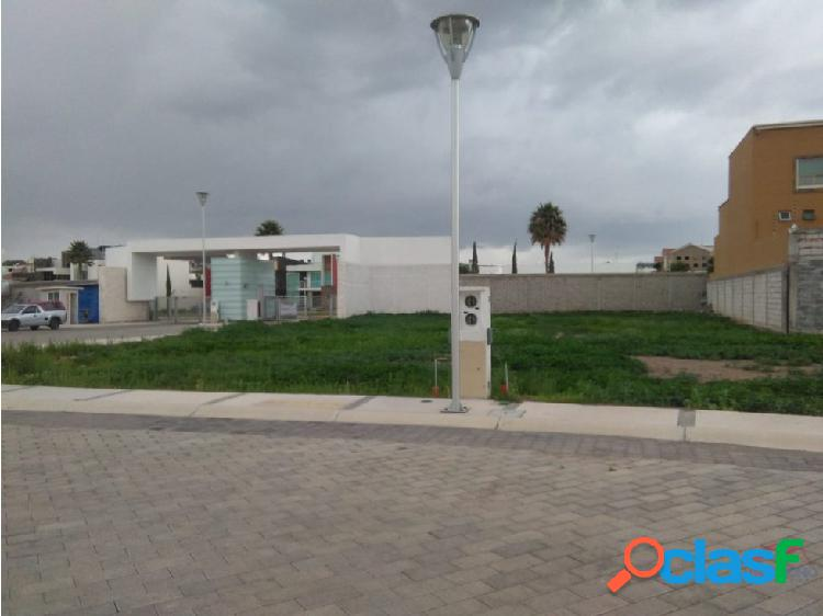 Venta de lote residencial de 282 mts pachuca hgo