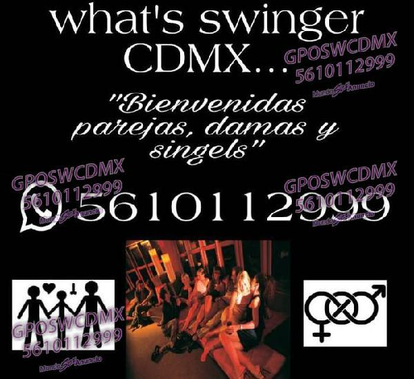 Swinger en la CDMX grupo de what's