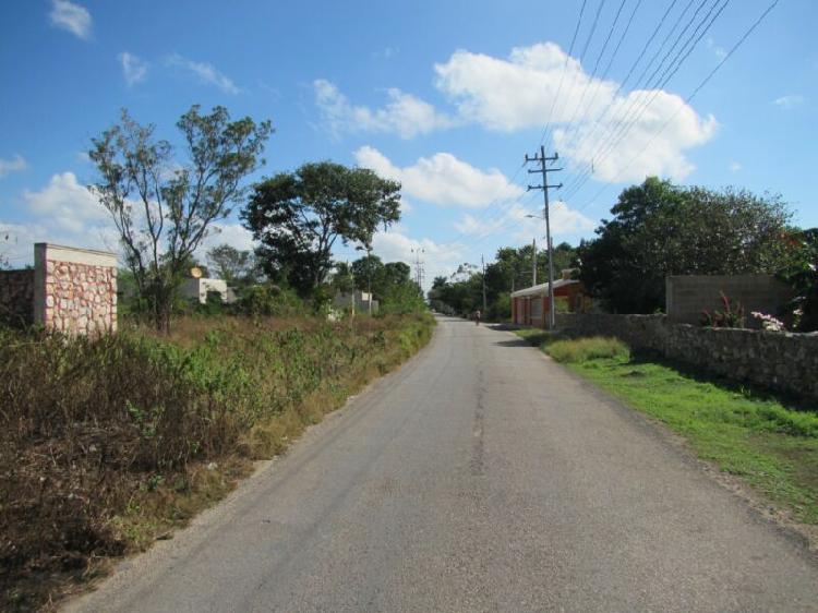 Terreno en venta en yucatan, 10 hectareas en izamal pueblo