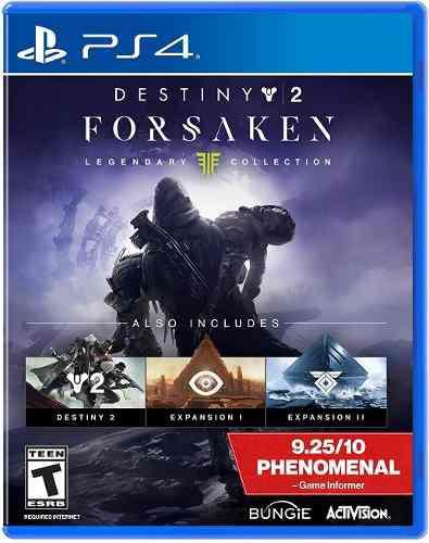 Activision destiny 2: forsaken - legendary collection ví