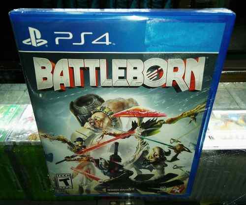 Battleborn juegazo para ps4 nuevo y sellado (hit games shop)