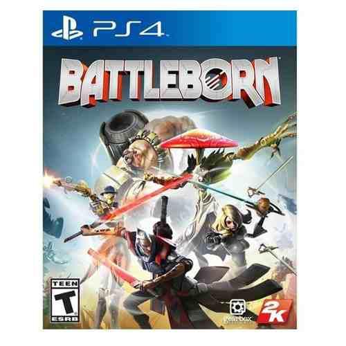 Battleborn ps4 juego físico, nuevo y sellado envío gratis