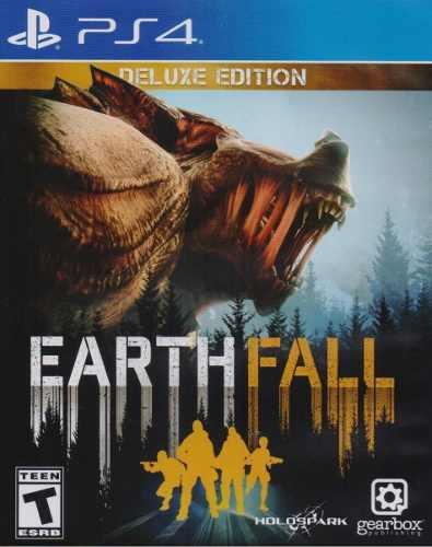 Earthfall deluxe ed playstation 4 ps4 juego nuevo en karzov