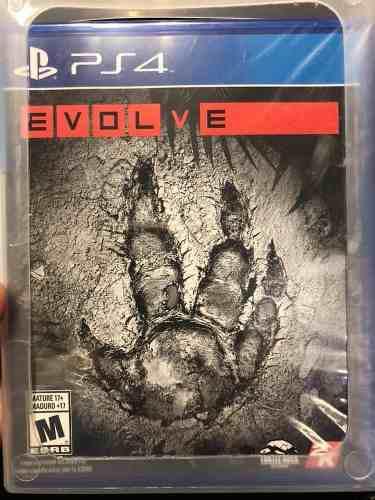 Evolve ps4 juego físico nuevo sellado incluye envío gratis