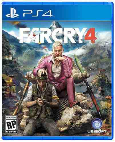 Far cry 4 ps4 playstation 4 nuevo y sellado juego videojuego