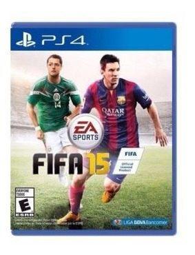 Fifa 15 ps4 juego fisico en caja blue ray sony cd