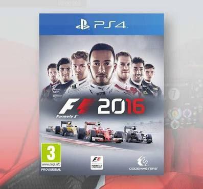 Fórmula 1 2016 ps4 juego físico