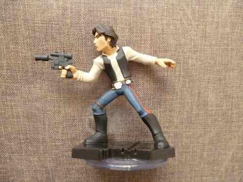 Han solo fig star wars de juego disney infinity 2.0 loose