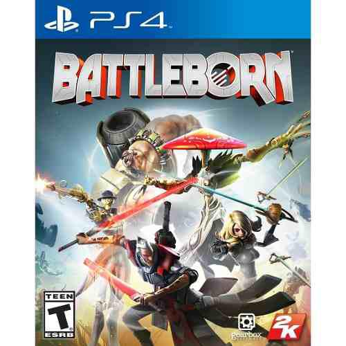 Juego battleborn ps4 nuevo original en linea