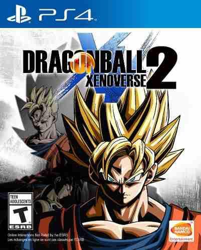 Juego dragon ball xenoverse 2 ps4 nuevo original