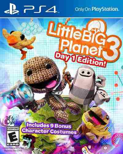 Juego little big planet 3 launch edition playstation 4