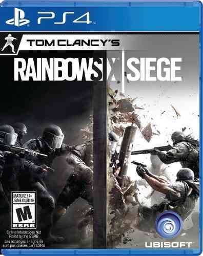 Juego tom clancy's rainbow six siege ps4 nuevo original
