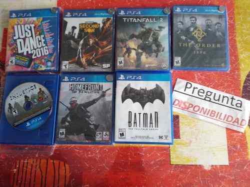 Juegos play 4 precio por cada uno