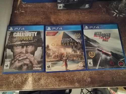 Juegos ps4 call of duty,need for speed,assasins creed