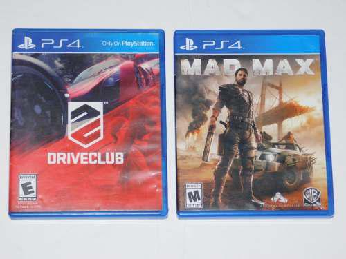 Juegos ps4 mad max drive club playstation 4 video juegos