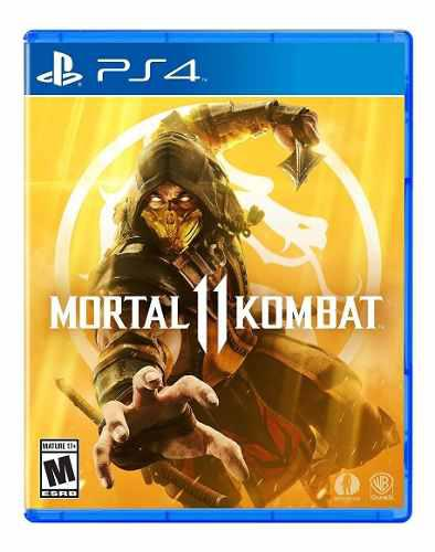 Juegos sony playstation ps4 mortal kombat 11 fisico nvo /u