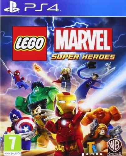Juegos,lego marvel super heroes sony playstation 4 ps4 j..