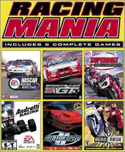 Juegos,racing mania (need for speed u200bu200b2, rash ro..