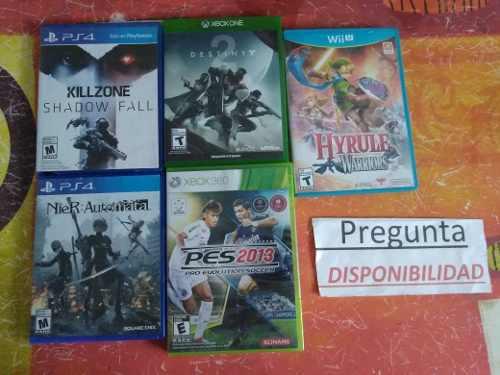 Lote Juegos Varias Consolas