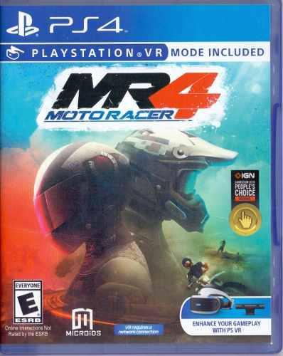 Moto racer 4 cuatro mr4 ps4 playstation 4 juego nuevo karzov