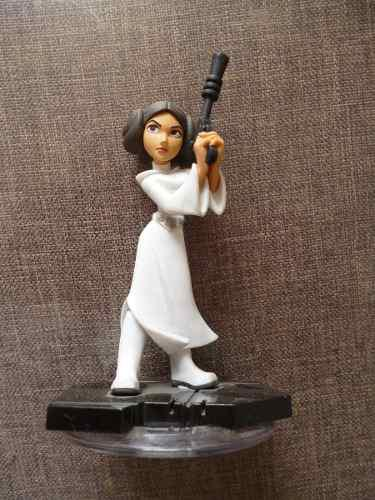 Princess Leia Fig Star Wars De Juego Disney Infinity 2.0