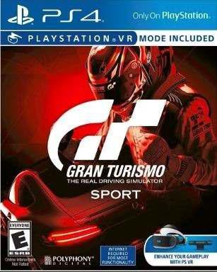 Ps4 - gran turismo sport - juego fisico (mercado pago)