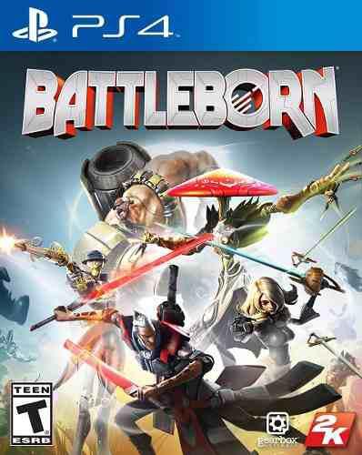 Ps4 juego battleborn compatible con playstation 4