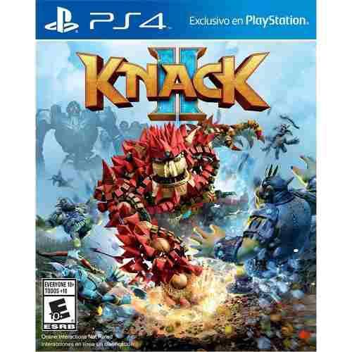 Ps4 juego knack